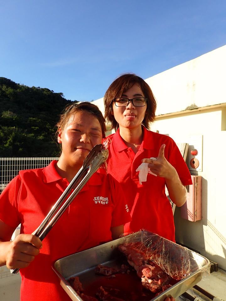 マリンハウスシーサー阿嘉島:BBQ★Night
