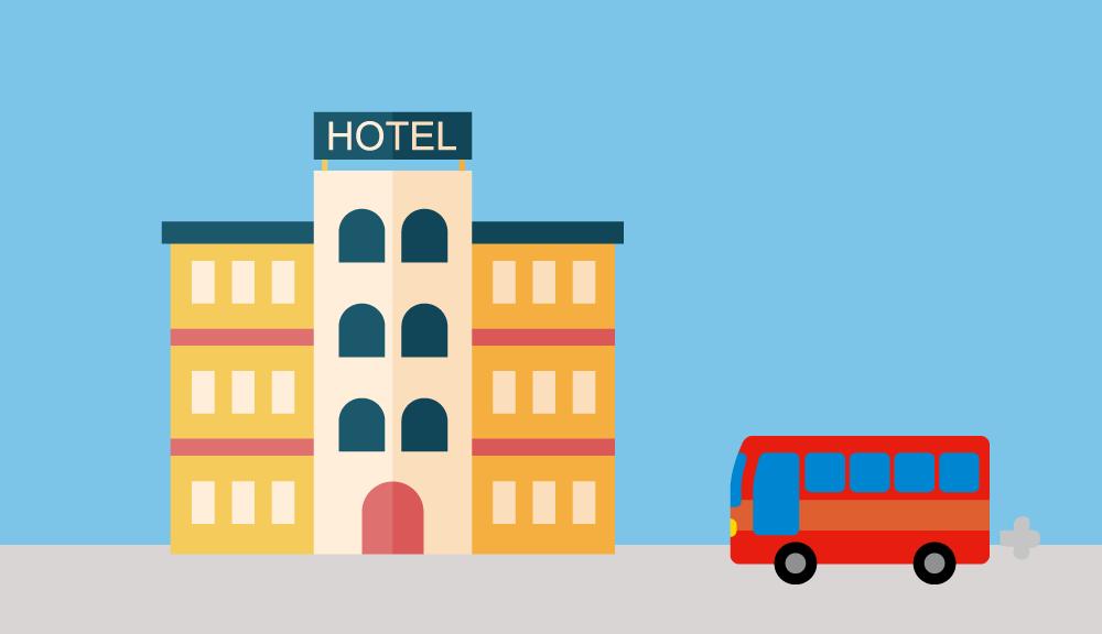帰港・ホテル送迎