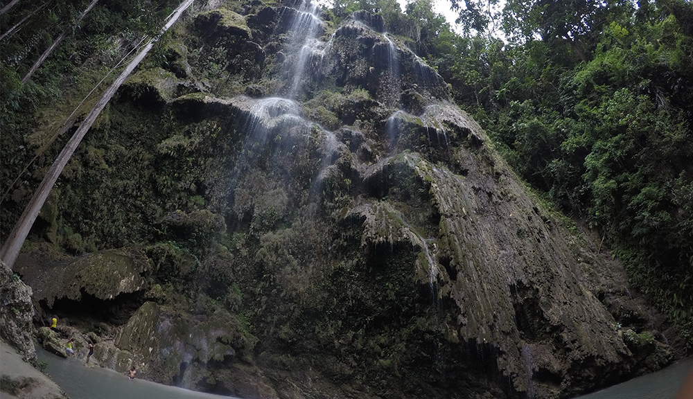 ツマログの滝でリフレッシュ!