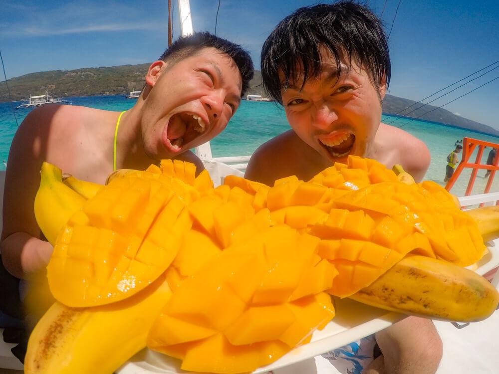 完熟マンゴー食べ放題!