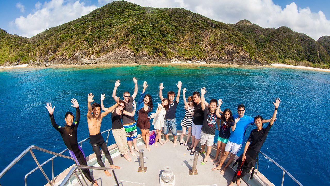 Diving & Snorkeling tour in the Kerama island in Okinawa