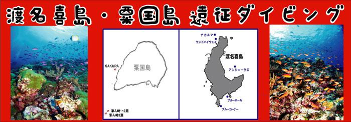 限定シーサー那覇店企画、渡名喜島・粟国島遠征ダイビング