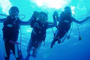 ダイビングのイメージ