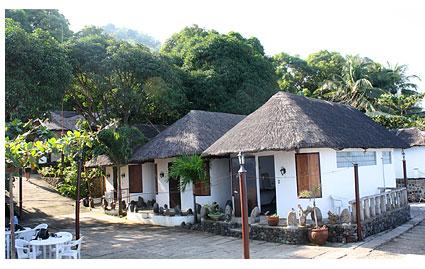 リゾート内の宿泊施設