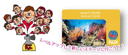 Night Diverカード